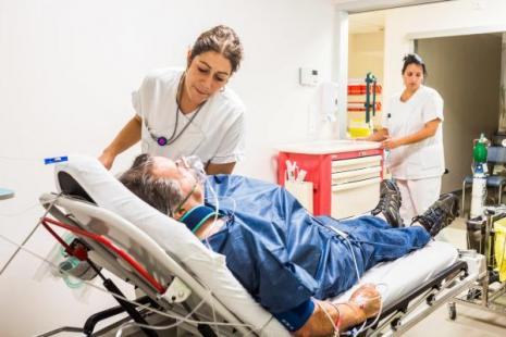 patient pris en charge aux urgences